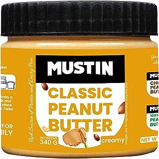 Mustin Classic Peanut Butter Creamy Jar, 340 g