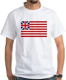 Grand Union Flag 100% Cotton T-Shirt, White