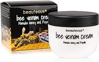 beauteous Bee Venom Cream with New Zealand Bee Venom, Manuka Honey and Propolis, 100g