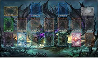 AArtTM Yo-gi-oh Custom Template 2017 Master Rule 4 Link Zone Playmat Zombie Dragon Playmat Fantasy Dragon Playmat TCG Playmat MTG Playmat TCG Playmat Yugioh Playmat