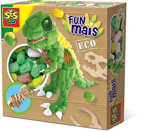 SES Creative- Dinosaure Squelette en Bois-FUNMAIS, 24988