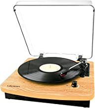Lauson CL508 Vintage Record Player, Turntable for Vinyl Records 3 Speed, Belt Drive LP Vintage Phonograph. Record Player w...
