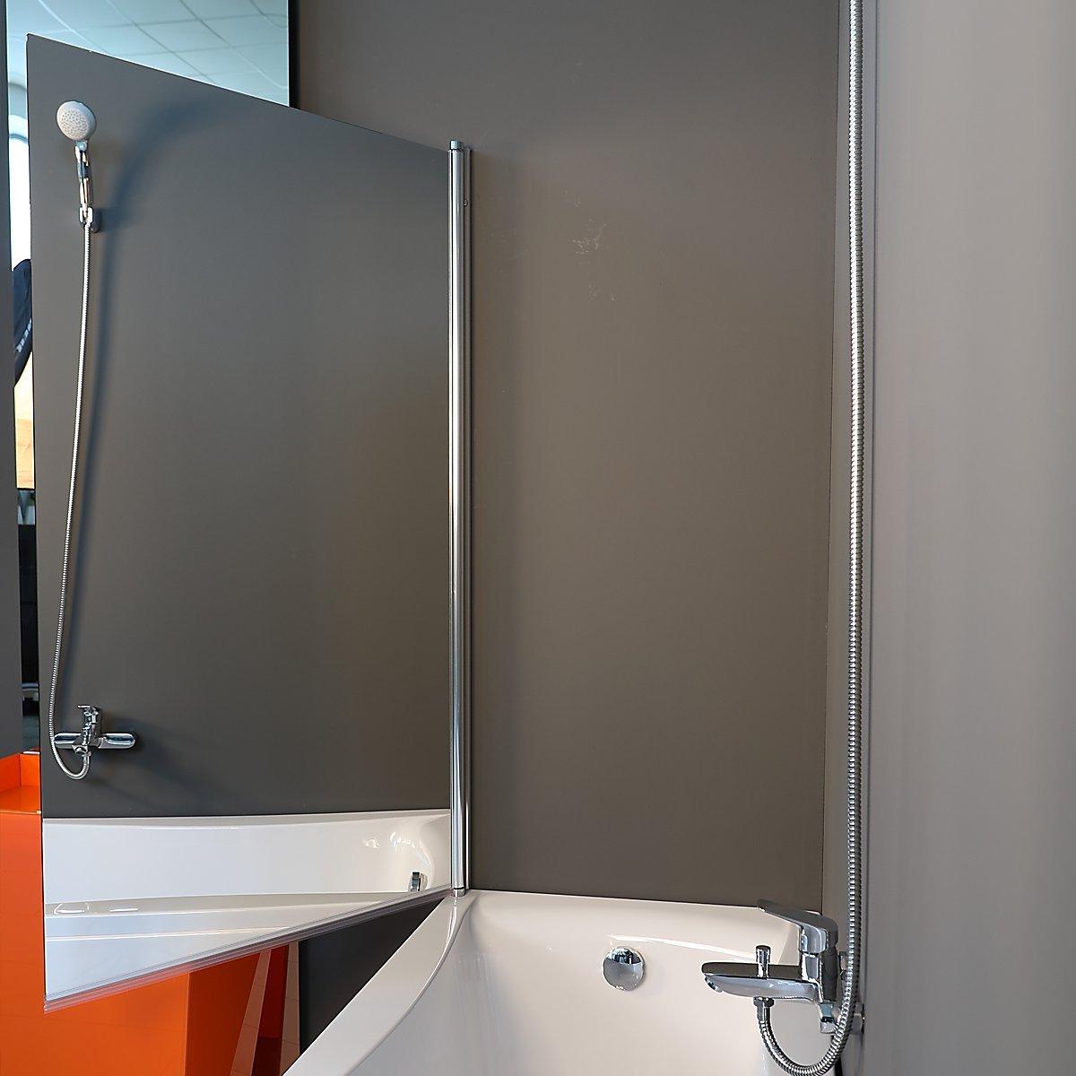 1400 x 800 mm ESPEJO LAMINADO Partición de Ducha Para el Baño Partición de Baño sin Marco Partición para Pañera Partición de Vidrio para Bañera: Amazon.es: Bricolaje y herramientas
