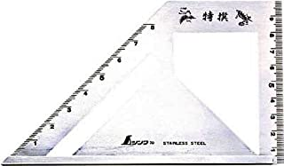 シンワ/シンワ測定 止型スコヤ左右墨付【62081】(4219546) [その他]