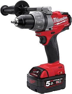 Milwaukee Cordless Drill 4933451064 M18FDD-502X 2X 18V/5.0Ah Li-Ion