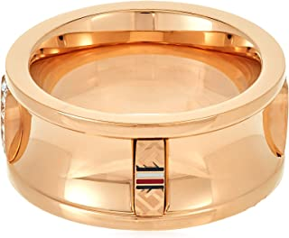 TOMMY HILFIGER WOMEN'S IONIC ROSE GOLD PLATED STEEL RINGS -2780035C