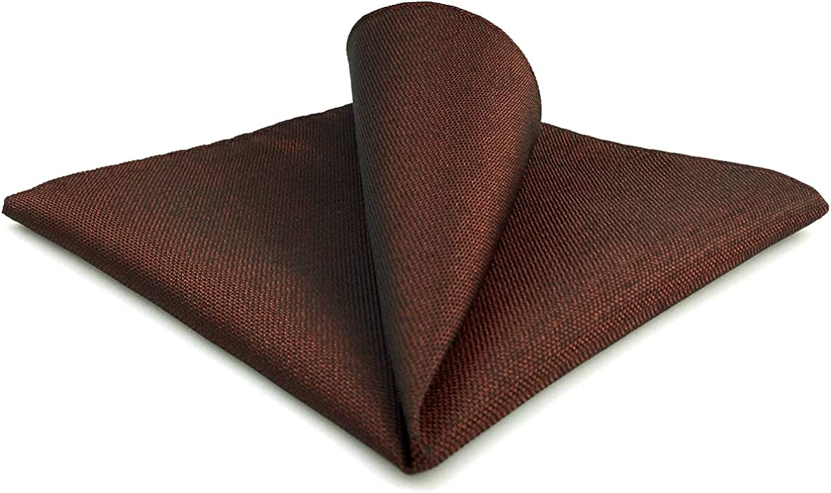 SW SHLAXWING Mens Ties Silk Necktie Maroon Co trend rank Solid Brown Dealing full price reduction Sets