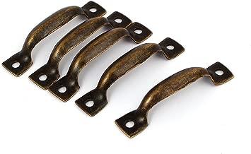 Sourcing mappa maniglie di legno di 65/mm distanza fori 91/mm Lunghezza del cassetto porta 10PCS