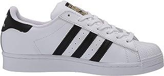 adidas Originals Kids' Superstar Sneaker, White/Black/White