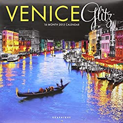 Venice Glitz 2015 Wall Calendar