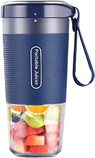 Portable Blender, Cordless Personal Blender Juicer, Mini Mixer, Waterproof Smoothie Blender With USB Rechargeable, BPA Fre...