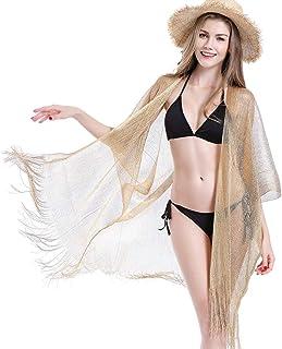 5a4c4cfa351fce Kimono Cardigan, Fashion Women Lady Swimsuit Beach Smock Sexy Loose Cover- ups