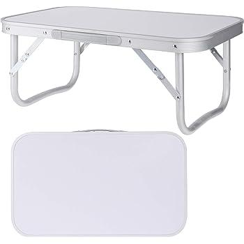 Camping Tisch Klapptisch Gartentisch Balkon Beistelltisch Garten Aluminium Tisch Grau 56x34x24cm Amazon De Sport Freizeit