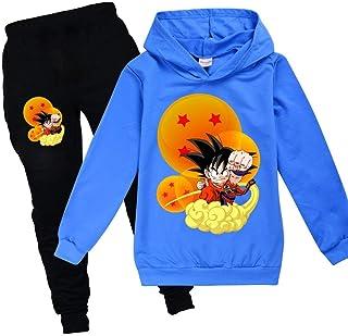 Unisexe Pull À Capuche Pull Hommes Femmes Imprimer difficile du côlon Anime Parodie Goku