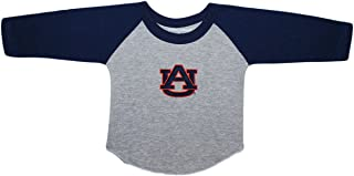Auburn University Tigers Baby and Toddler 2-Tone Raglan Baseball Shirt