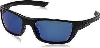 Costa Blackout/Blue Mirror Whitetip 580P Sunglasses
