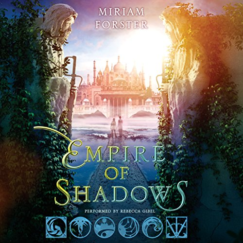 Empire of Shadows audiobook cover art