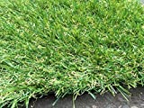 Berlin 26mm Pile Height Artificial Grass | Choose from 47 Sizes on this Listing | Cheap Natural & Realistic Looking Astro Garden Lawn | 4 x 1m of Cheap High Density Fake Turf