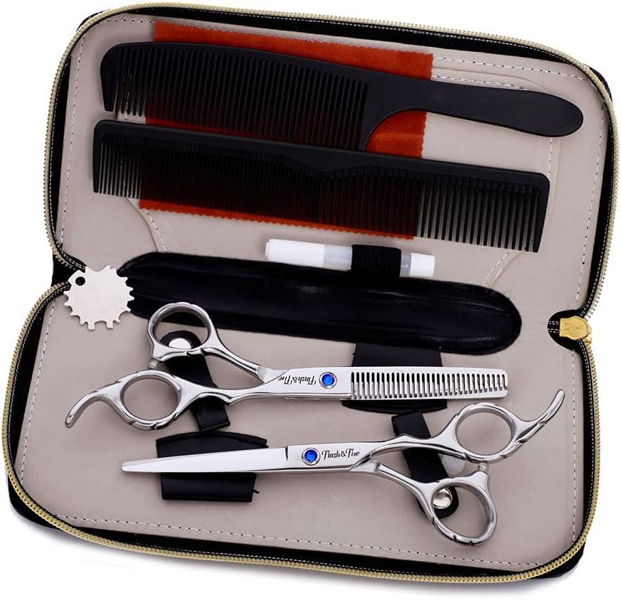 DXZM Hair Cutting Scissors Set Dressing Kit PCS 7 Financial sales sale Don't miss the campaign Shears St