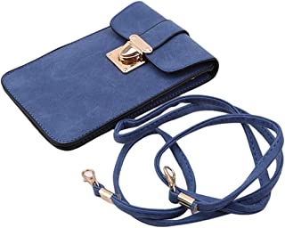LALANG Blue Small Mobile Phone Bag Handbag Female Wild Mini Crossbody Bag