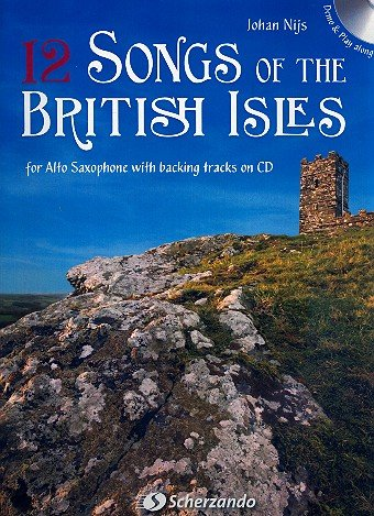 12 nummers van de Britse Isles (+CD): voor de alto saxofoon