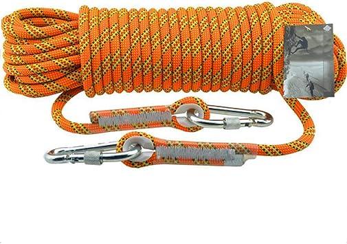 HUYYA Cuerda de Escalada estática, 11 mm Cuerda de Seguridad ...