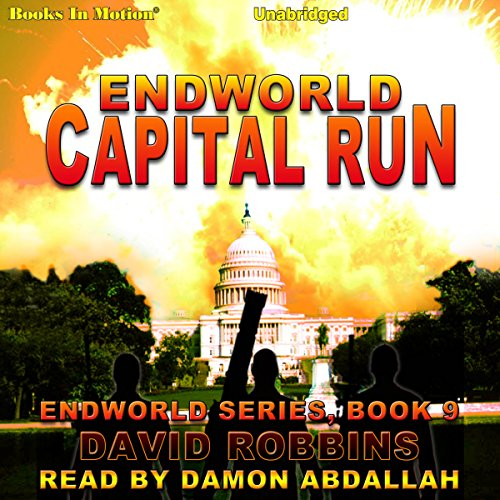 Capital Run audiobook cover art