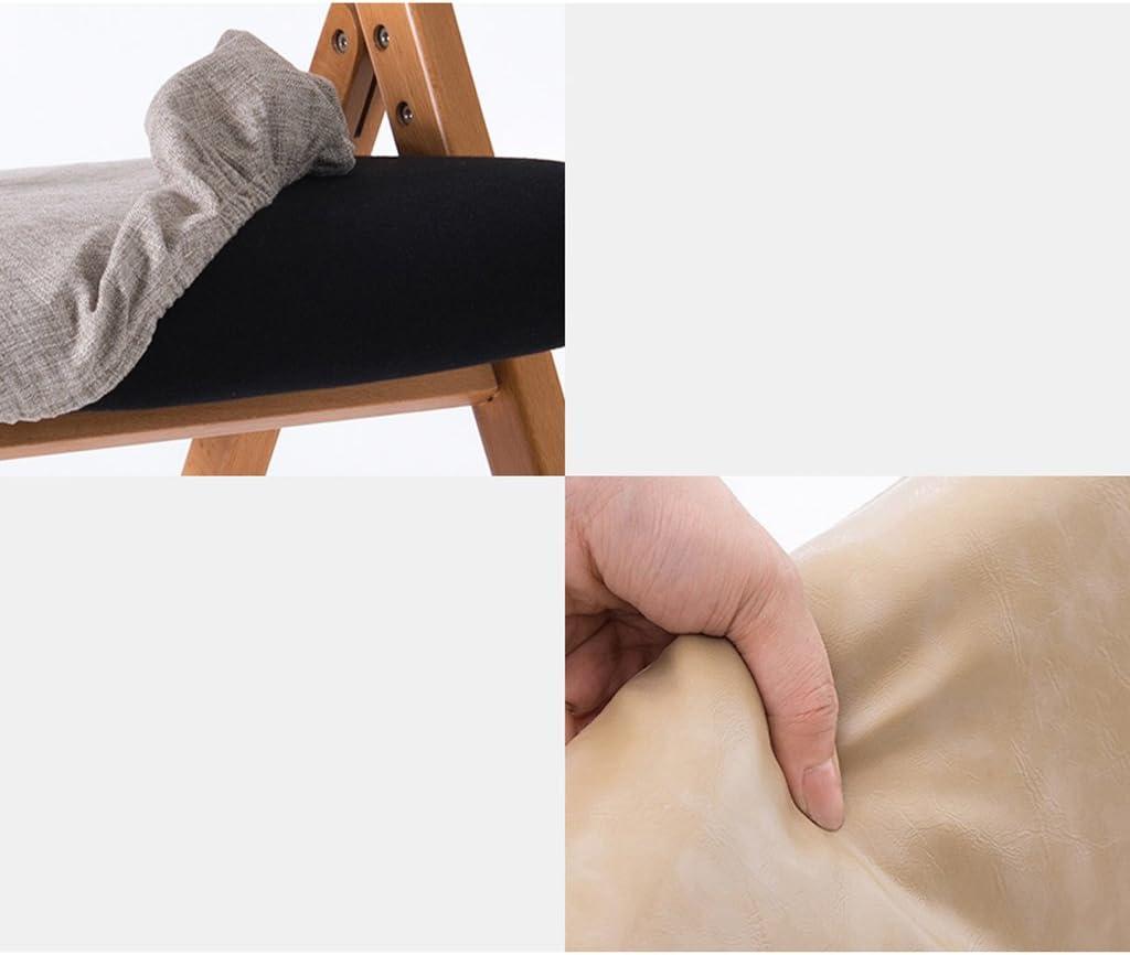 Chaise à manger en bois accoudoir créatif simple chaise pliante (Couleur : A) D