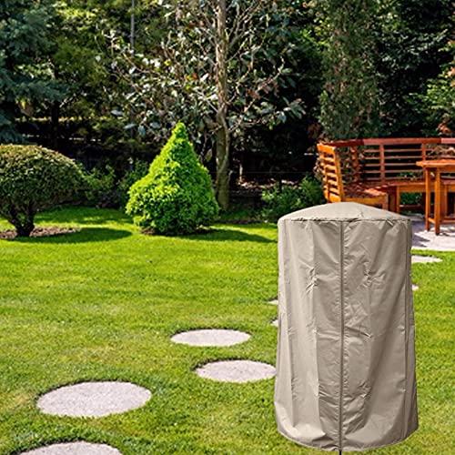 Cubierta Calentador Patio, Funda Estufa Exterior para Calentadores de Exteriores, Cubierta Impermeable del Calentador de Patio para Patio de Jardín al Aire Libre