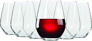 Maxwell & Williams 540 ML Vino Stemless Red Wine Glass, Set of 6