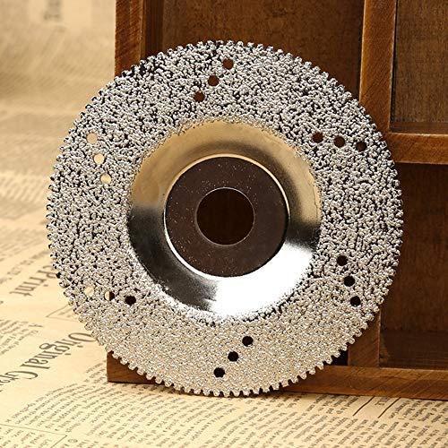 YUQIYU 100 mm de diamante cuchillas muela de diamante disco de corte de sierra de hojas FOR Dremel herramienta rotativa Cuttter porcelana hormigón mármol