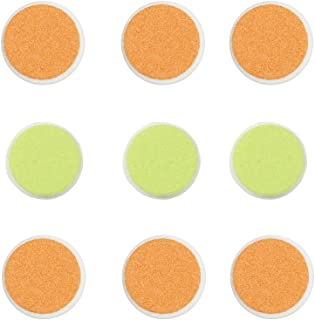 Zoli Baby Buzz B Replacement Pads - 9 Pack, Green/Orange