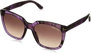 Sunglasses Tom Ford FT 0502 83T Violet Stripe/Brown Gradient