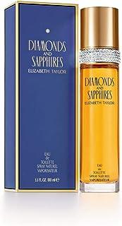 Elizabeth Taylor Diamonds and Sapphires Eau de Toilette Spray for Women, 100ml