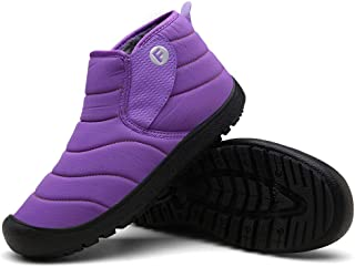 Unisex Adults'Snow Boots Size 37-47 EU Snow Shoes High To Help Cotton Shoes Warm Plus Velvet Sports Shoes Waterproof Mountaineering Men Snow Shoes Women Snow Shoes