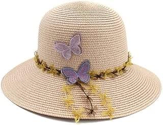 Butterfly Straw hat, Straw hat, Beach hat, Sun hat, Seaside, Outdoor Sun Protection, Straw hat