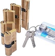 Slotcilinder Puur koper AB Slot kern 110 mm cilinder AB Sleutel anti-diefstal ingang messing deurslot enkele rij marmeren ...