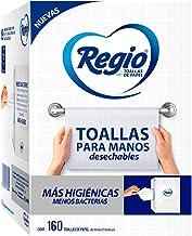 Regio Regio Toallas Para Manos 1 Paquete 160 Hojas, color, 160 Cuenta, pack of/paquete de