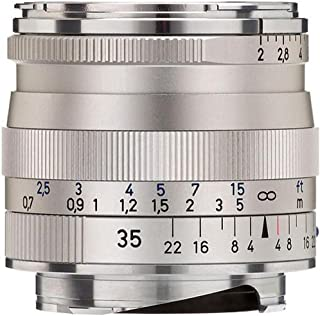 Zeiss 35mm f/2 Biogon T ZM MF Lens for Zeiss Ikon & Leica M Cameras (Silver)