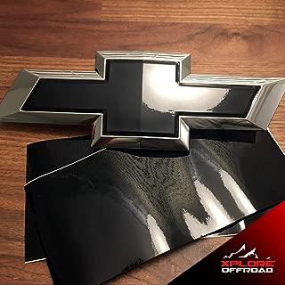 XPLORE OFFROAD - Emblem Overlay Kit | 3M Graphic Vinyl | for Chevy, GMC, Subaru, Ford, Toyota, Infiniti, Lexus (Gloss Black)