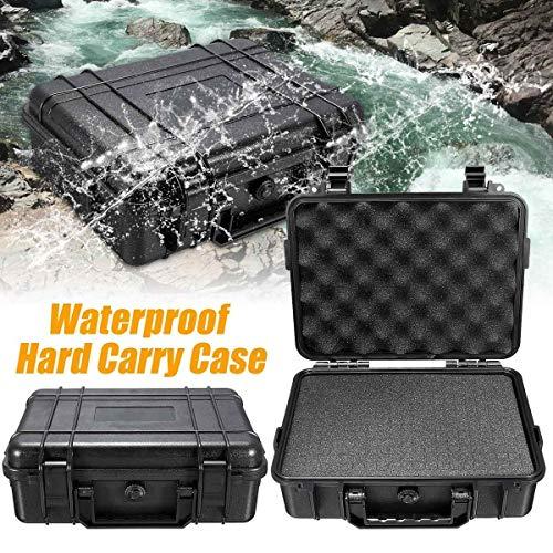GAOLE 5 Formati Carry Rigido Impermeabile Sacchetto Filtro di corredi di attrezzo con Spugna Storage Box di Sicurezza Protector Organizzatore Hardware Toolbox (Size : 215x165x95mm)