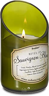 DecoGlow Wine Bottle Scented Candle - Sauvignon Blanc