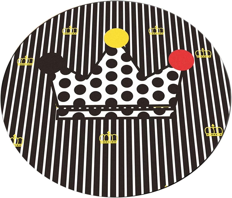 tomar hasta un 70% de descuento A-Alfombra rojoonda JCOCO Noble Simple Estilo Europeo Fácil de de de Limpiar Suciedad Anti-desColoramiento Antideslizante Sala de Estar Dormitorio Ordenador Silla Cojín (Color    2, Tamao   140  140cm)  tienda en linea