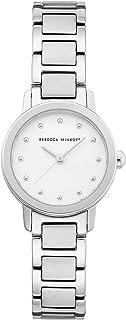 Rebecca Minkoff Women's Quartz Watch with Stainless Steel Strap, Silver, 12 (Model: 2200332)