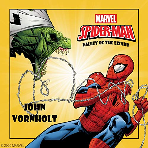 Spider-Man: Valley of the Lizard cover art