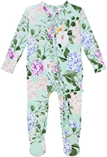 Baby Rompers Pajamas - Newborn Sleepers Girl Clothes -...