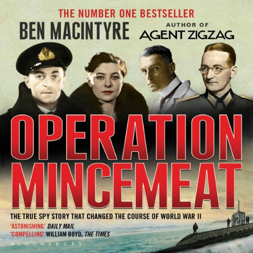 Operation Mincemeat audiobook cover art