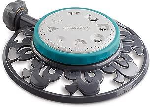 Gilmour 859563-1004 Circular Sprinkler-Heavy Duty, 8-Pattern, Grey
