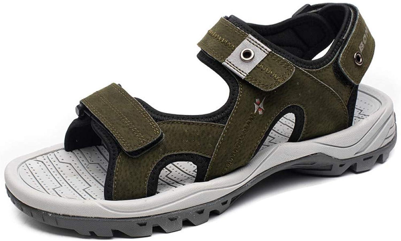 Tanxianlu Men Sandals Beach Male Slippers Anti-Slippery Men Summer shoes