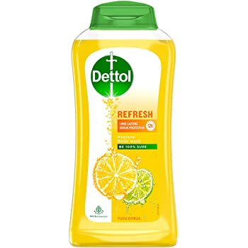 Dettol Body Wash and Shower Gel, Refresh - 250ml